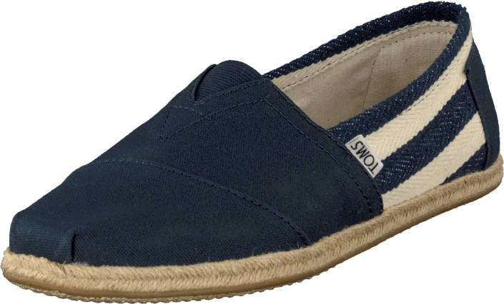 Toms - University Classic Men Navy Stripes