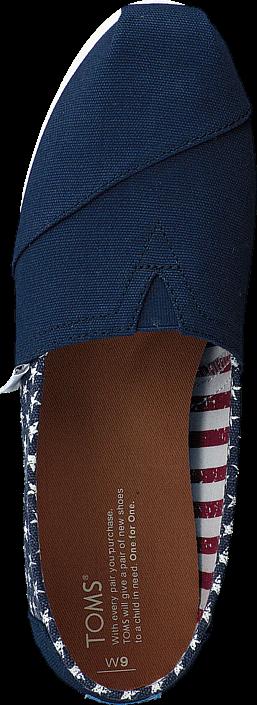 Toms - Seasonal Classics Americana Navy Stars