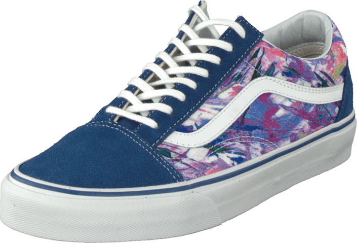 Vans - U Old Skool (Multi Paint) Purple