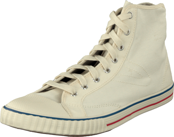 Tretorn - Hockeyboot Canvas W Antique white