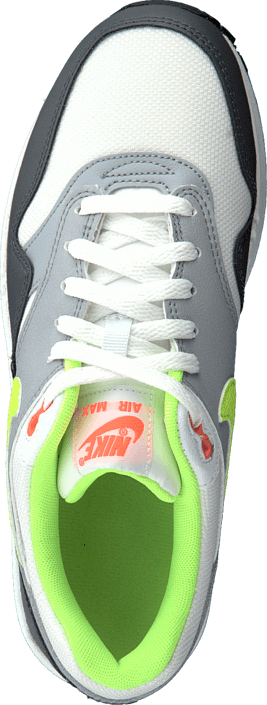Nike - Nike Air Max 1 (Gs) White/Grey/Volt Green