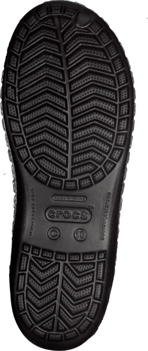 Crocs Genna II Hearts Flat GS Black