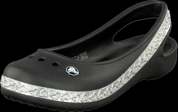 Crocs - Genna II Hearts Flat GS Black