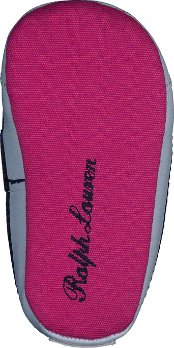 Ralph Lauren Junior Harbour Hi layette Fuchsia Canvas/Navy PP