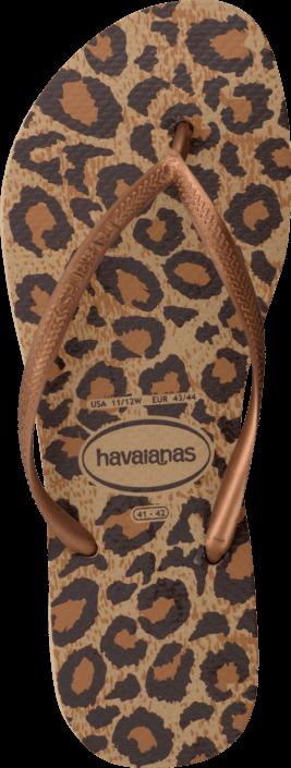 Havaianas - Slim Animals Beige