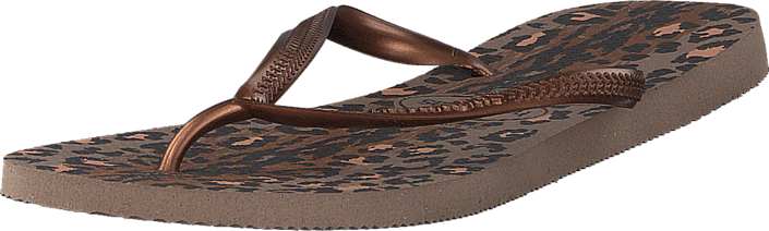 Havaianas Slim Animals Rose Gold/Dark Copper