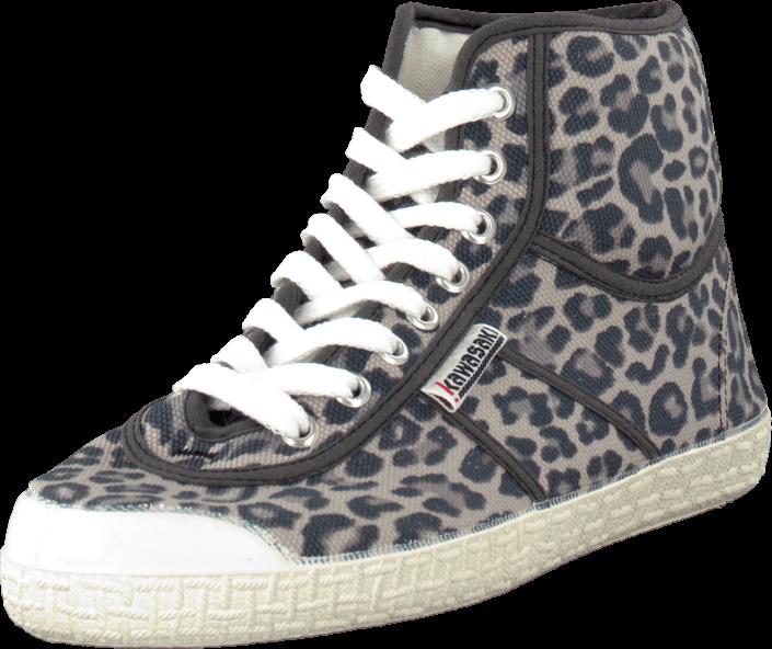 Kawasaki - Leopard boot Leopard grey