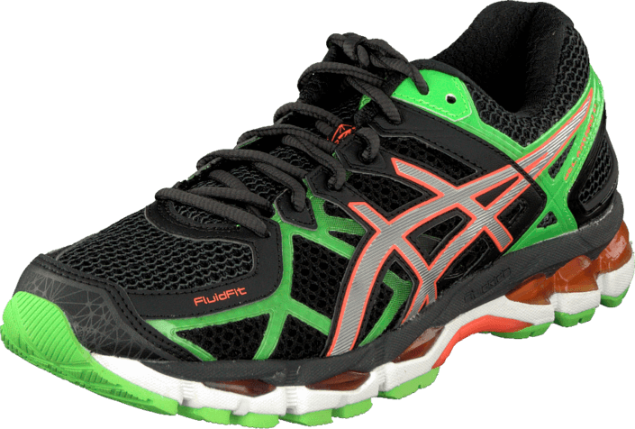 Asics - Gel Kayano 21 Black/Lightning/Flash Green