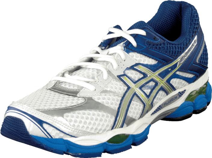 Asics - Gel Cumulus 16 White/Lightning/Royal