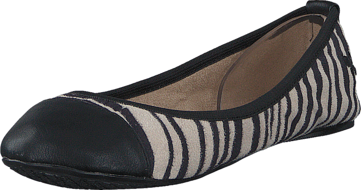 Butterfly Twists - KATE WHITE ZEBRA/BLACK