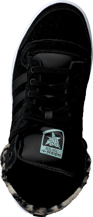 adidas Originals - Top Ten Hi W Core Black/Core Black/Mist