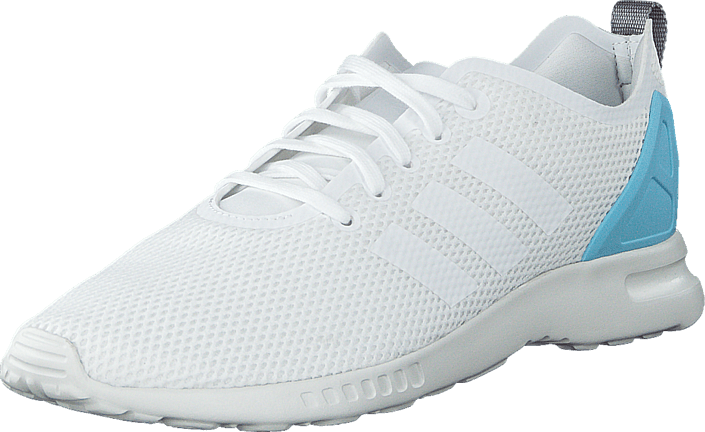 adidas Originals - Zx Flux Smooth W Core White/Blush Blue