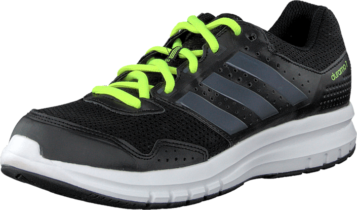 adidas Sport Performance Duramo 7 K Black/Dark Grey/Yellow