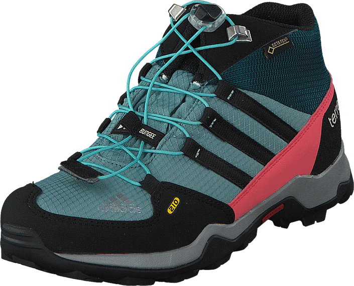 Footway SE - adidas Sport Performance Terrex Mid Gtx K Vapour Steel/Black/Tech Green, Skor, K 897.00