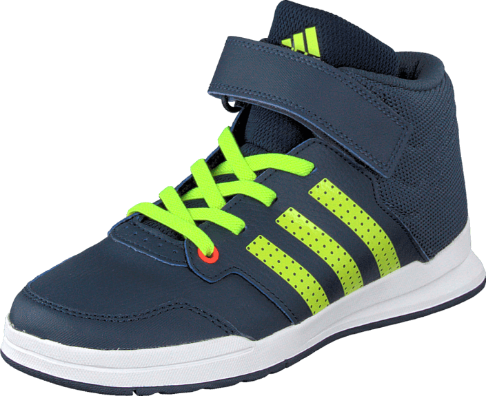 adidas Sport Performance - Jan Bs 2 Mid C Navy/Yellow/Midnight Grey