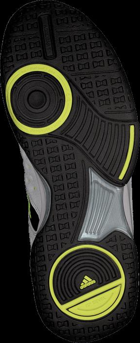 adidas Sport Performance - Court Stabil 12 Core Black/Silver Met/Yellow