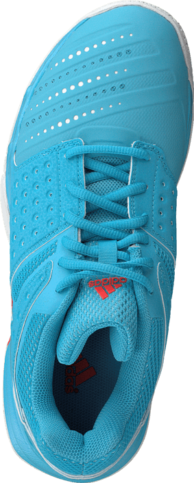 adidas Sport Performance Court Stabil 12 W Bright Cyan/White/Red