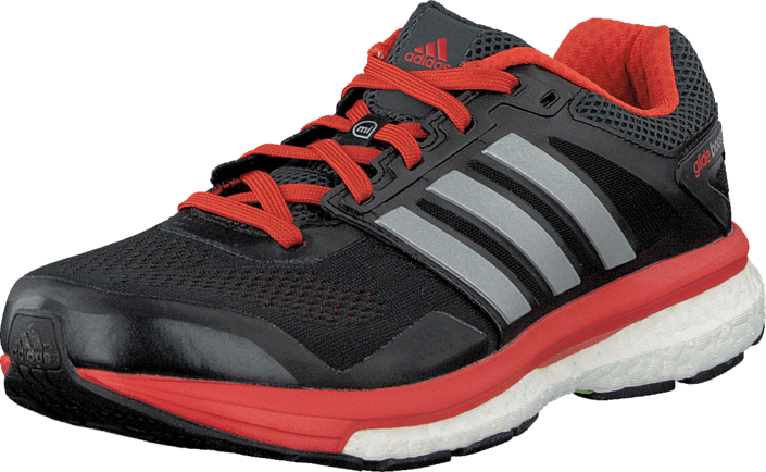 adidas Sport Performance - Supernova Glide Boost 7 M Dark Grey/Silver Met/Orange