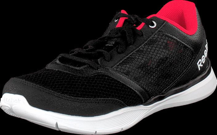 Reebok - Cardio Workout Low Rs Black/Grey/Neon Cherry/White