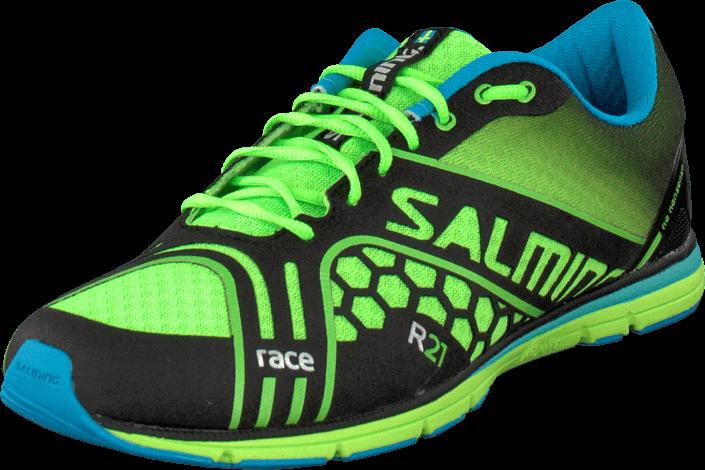 Salming Race Men Gecko Green, Sko, Sneakers & Sportsko, Løbesko, Grøn, Herre, 40