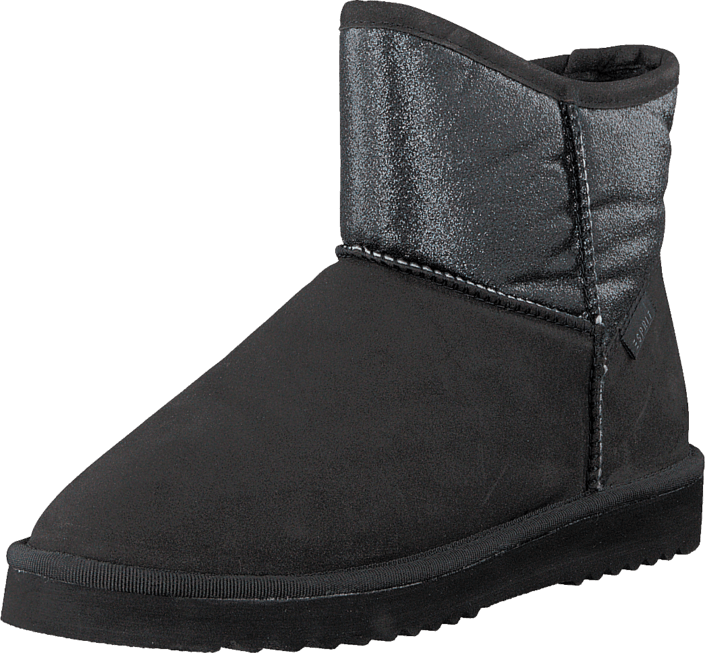 k b esprit uma glitter black sorte sko online. Black Bedroom Furniture Sets. Home Design Ideas