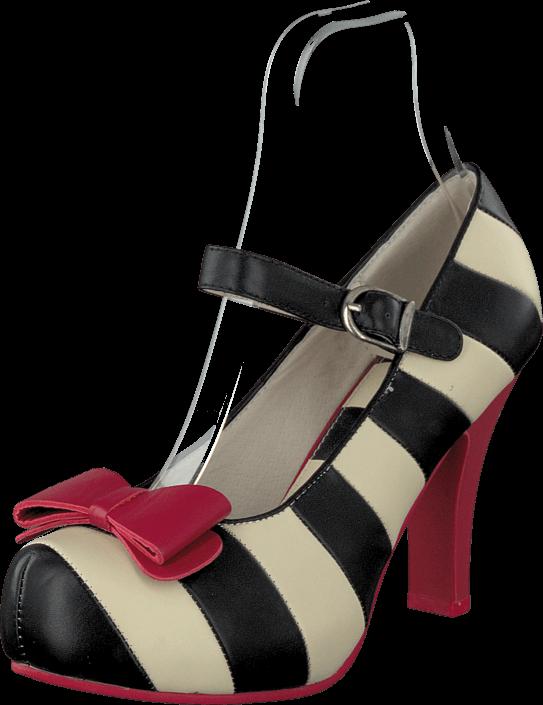 Lola Ramona Angie 413001 Black/cream/red