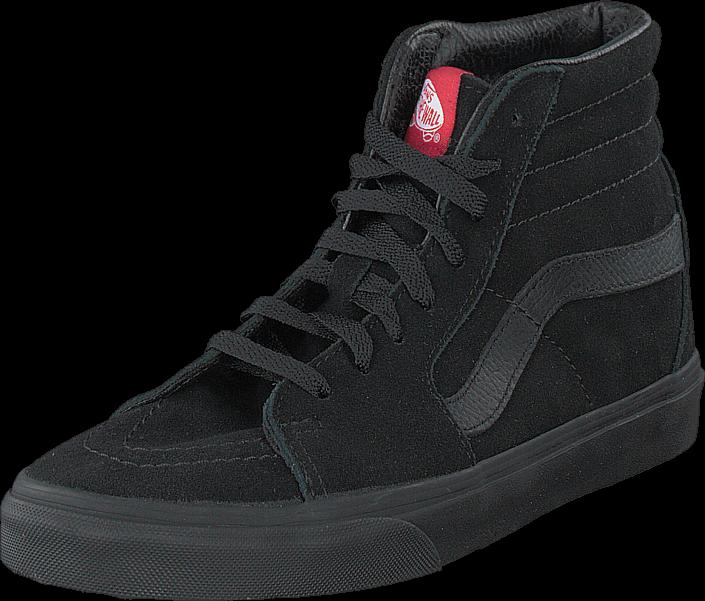Vans SK8-Hi Black/Black (Suede)