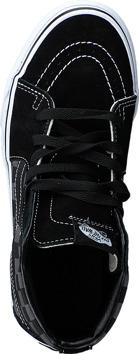 Vans - Sk8-Hi (Checkerboard) Black/Pewter