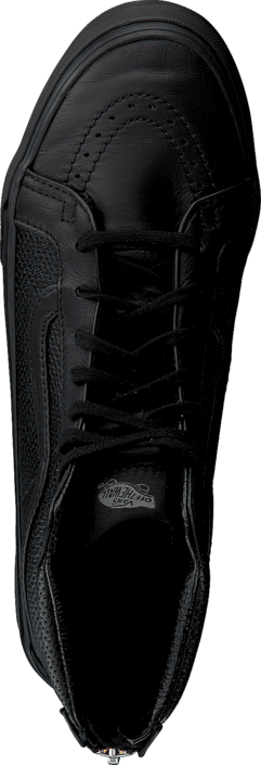 Vans - SK8-Hi Slim Zip (Perf Leather) Black/Black
