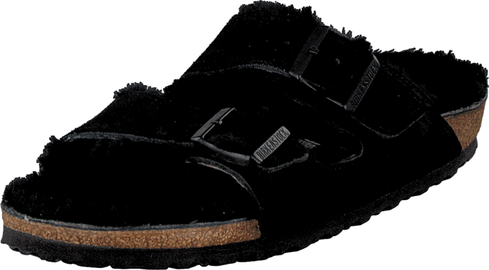 Birkenstock - Arizona Black Sheepskin Black