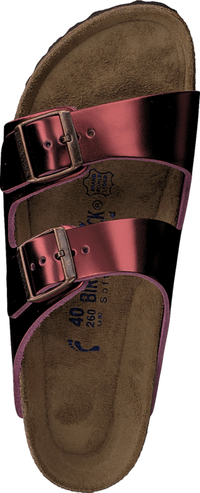 Birkenstock - Arizona Metallic Tourmaline Wine