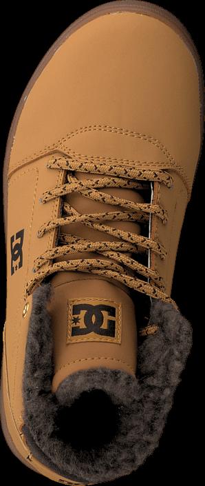 DC Shoes Crisis High Wnt B Shoe Wheat/Dk Chocolate