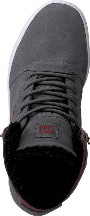 DC Shoes - Crisis High Wnt B Shoe Grey/Dark Red
