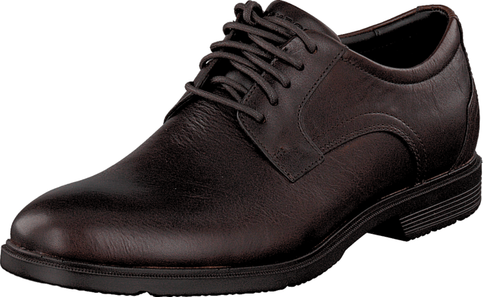 Rockport City Smart Plain Toe New Dk Brown