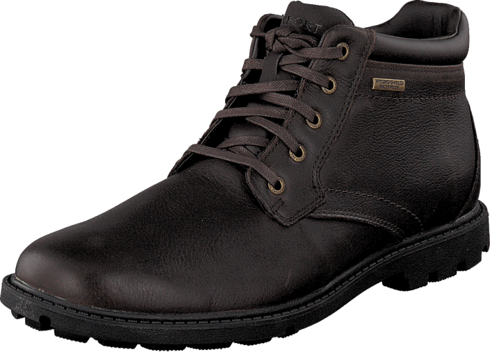 Rockport - Rugged Bucks Boot Wp Dk Brown Smth