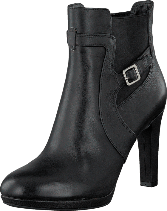Rockport - Seven To 7 Heel 95Mm Buckle Black Cas Pull