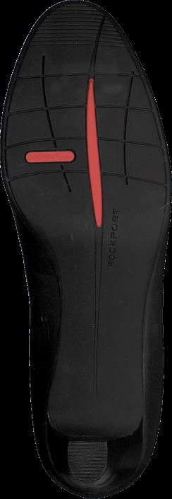 Rockport Total Motion 60Mm Heel Black Burn Calf
