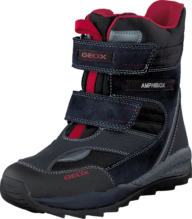 Geox J Orizont B. Abx A - Text+Sue Navy/Red