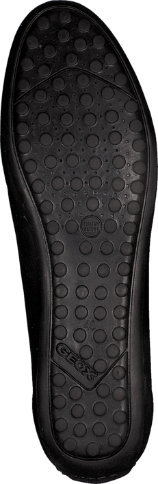 Geox - D Piuma Bal H - Smooth Leath. Black