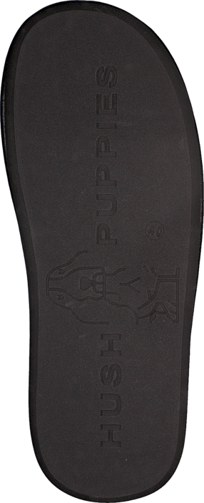 Hush Puppies - Felt Slipper BLK