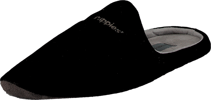 Hush Puppies - Velvet Slipper BLK