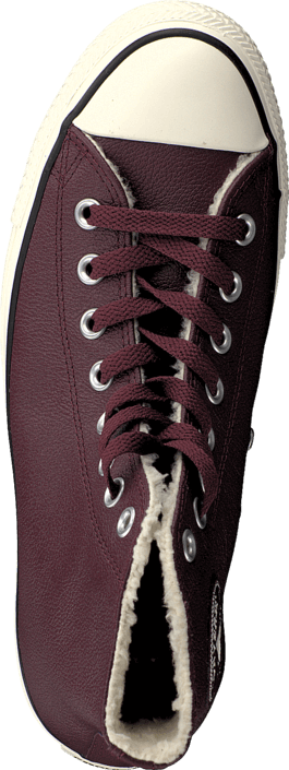 Converse - All Star Leather Shearling Deep Bordeaux/Natural/Egret