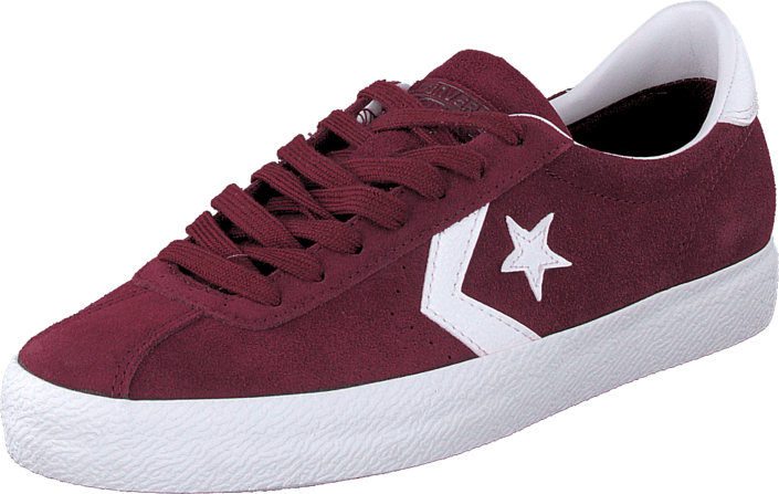 Converse - Break Point-Ox Deep Bordeaux/White/White