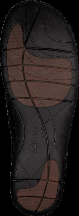 Clarks - Un Loop Black Leather