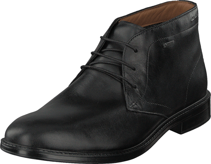 Clarks - Chilver Hi GTX Black Leather