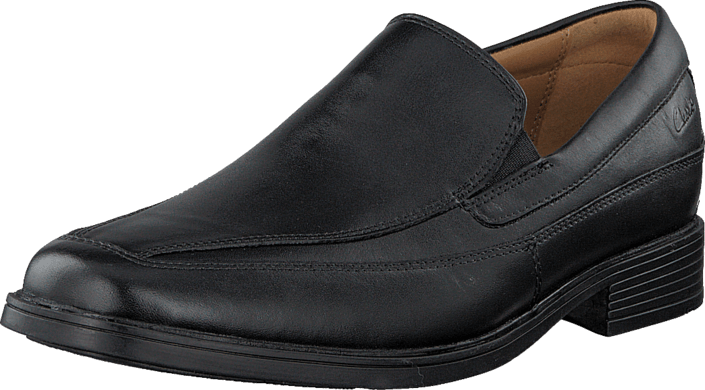 Clarks Tilden Free Black Leather