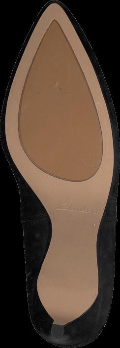 Clarks - Dalhart Salsa Black Leather