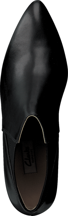 Clarks - Dalhart Salsa Black Leather