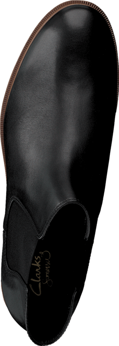 Clarks Taylor Shine Black Leather