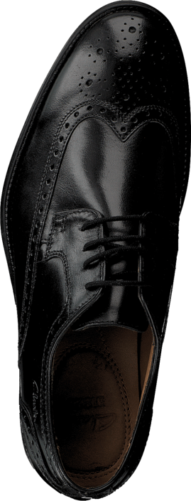 Clarks - Kolby Limit Black Leather